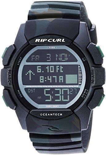 Rip Curl Men's Quartz Sport Watch with Polyurethane Strap, Multi, 25 (Model: A1134JUN1SZ)