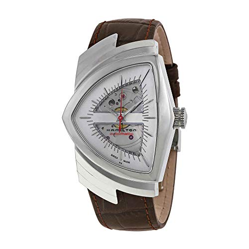 Hamilton Men's H24515551 Ventura Analog Display Automatic Self Wind Brown Watch