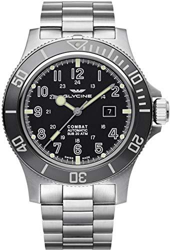 Glycine combat sub 48 GL0095 Mens swiss-automatic watch