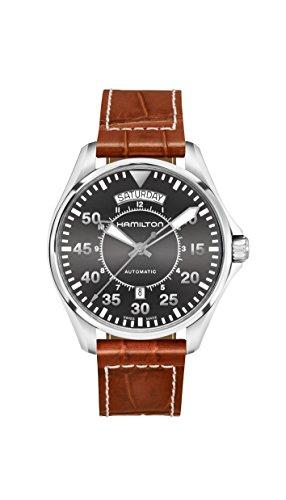Hamilton Khaki Pilot Date Auto 42mm Black Dial Mens Watch H64615585
