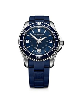 Victorinox Swiss Army Maverick Stainless Steel Watch, 43mm, Black