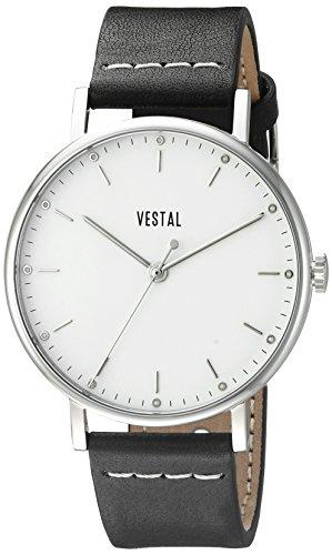 Vestal Unisex SPH3L01 The Sophisticate Analog Display Quartz Black Watch