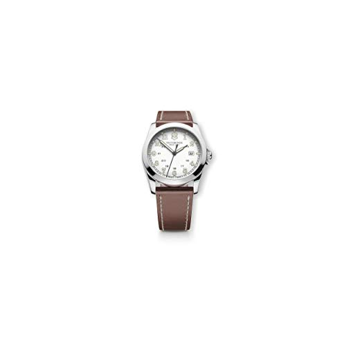 Victorinox Unisex Infantry Analog Display Swiss Quartz Brown Watch