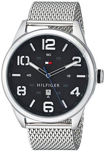 Tommy Hilfiger Men's 1791161 Analog Display Quartz Silver Watch