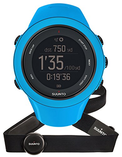 SUUNTO Ambit3 Sports Watch with HRM - One - Blue