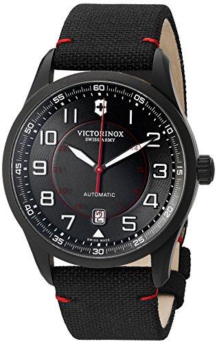 Victorinox Men's 'AirBoss' Swiss Stainless Steel Automatic Watch