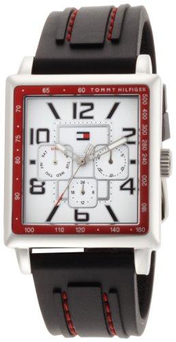 Tommy Hilfiger Men's 1790703 Stainless Steel Rectangular Case Sport Watch