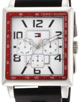 Tommy Hilfiger Men's 1790703 Stainless Steel Rectangular Case Sport Watch