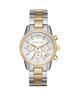 Michael Kors Women's Ritz Silver-Tone Watch MK6474