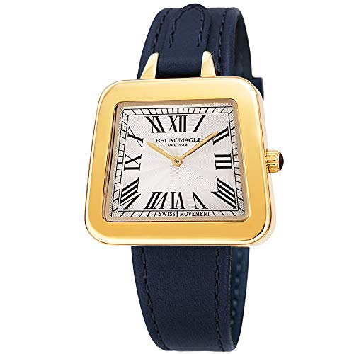 Bruno Magli Women's Emma 1142 Swiss Quartz Italian Leather Strap Watch