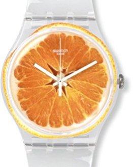 Swatch Unisex SUOK115 Vitamine Boost Analog Display Quartz White Watch