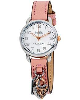 Coach Delancey Quartz Movement Silver Dial Ladies Watch 14502969