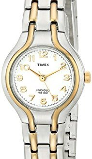 Timex Women's T27191 Linwood Street Two-Tone Stainless Steel Bracelet Watch