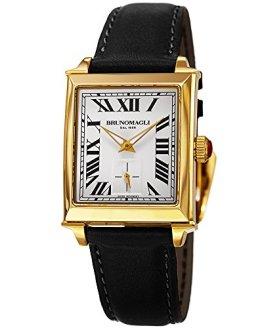 Bruno Magli Women's Valentina 1061 Swiss Quartz Italian Leather Strap Watch