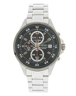 Seiko Men's SKS633 Silver Stainless-Steel Japanese Chronograph Sport Watch