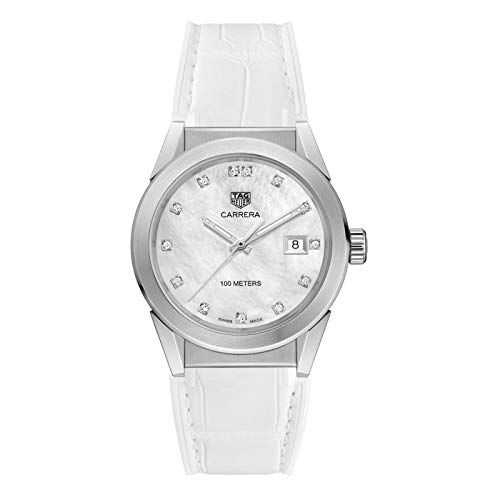 Tag Heuer Carrera Diamond Mother of Pearl Dial Ladies Watch