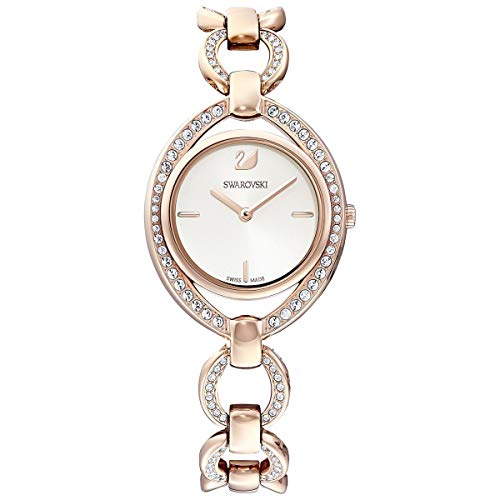 SWAROVSKI Crystal Authentic Stella Watch, Metal Strap