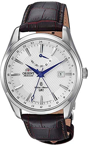 Orient Men's Polaris GMT Stainless Steel Japanese-Automatic Watch