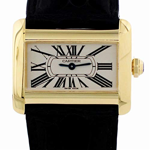 Cartier Tank Divan Automatic-self-Wind Female Watch