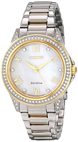 Drive from Citizen Eco-Drive Women's Watch with Swarovski Crystal Accents