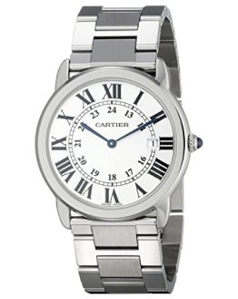 Cartier Ladies Silver-Tone Stainless Steel Watch