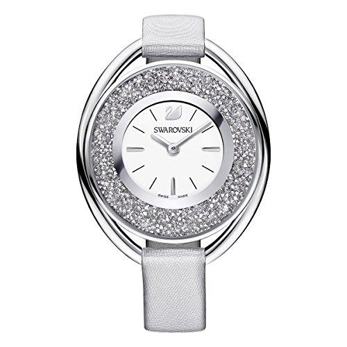 Swarovski Crystalline Oval Gray Ladies Watch