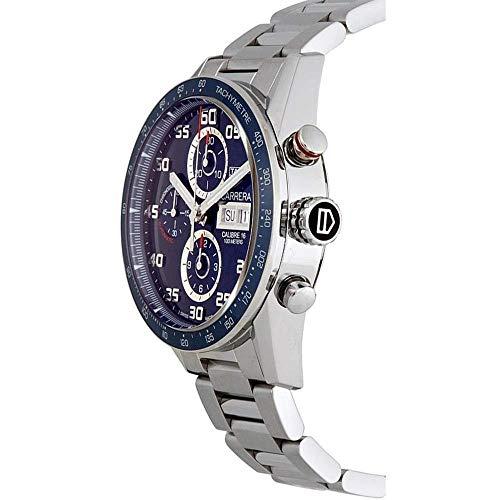 TAG Heuer Carrera Calibre 16 Automatic Chronograph Blue Dial Men's Watch TAG Heuer Carrera Calibre 16 Automatic Chronograph Blue Dial Men's Watch CV2A1V.BA0738.