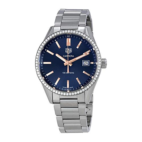 Tag Heuer Carrera Blue Dial Ladies Watch