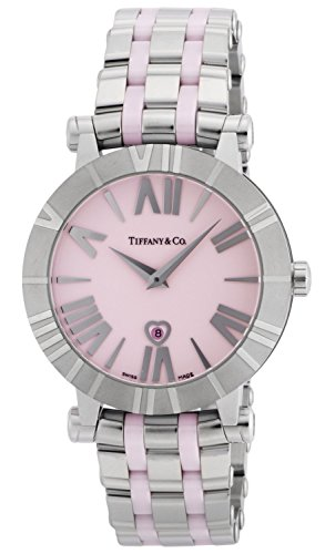 Tiffany & Co. Watch Atlas Pink Dial