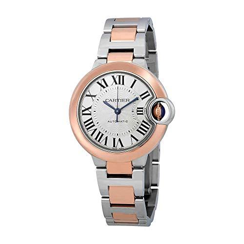 Cartier Ballon Bleu De Cartier Automatic Silver Dial Ladies Watch