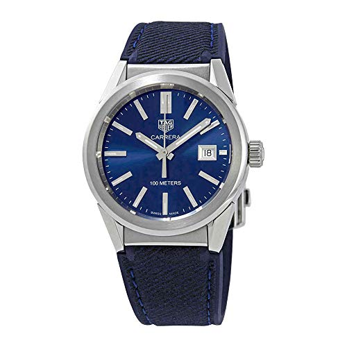 Tag Heuer Carrera Blue Dial Midsize Watch