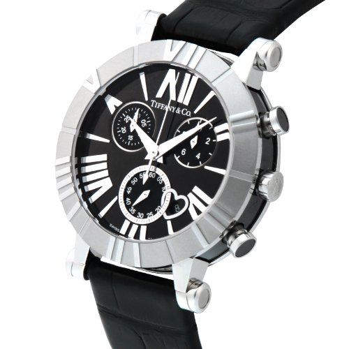 Tiffany & Co. Wristwatch Atlaschrono Alligator Leather Belt Tiffany & Co. Wristwatch Atlaschrono Alligator Leather Belt Z1301.32.11a10a71a.