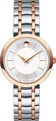 Movado 1881 Silver Dial Stainless Steel Ladies Watch 0607099