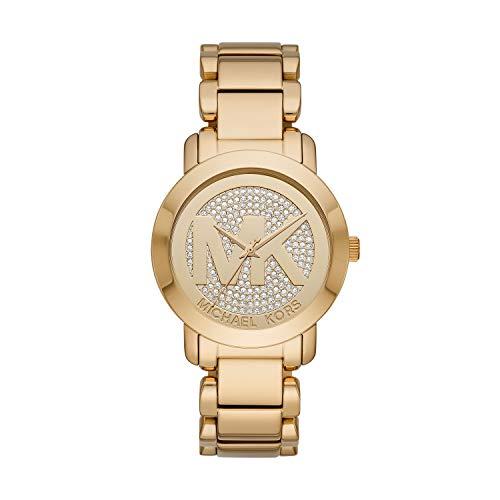 Michael Kors Women's Tiffany Rose Gold Tone Stainless Steel Watch