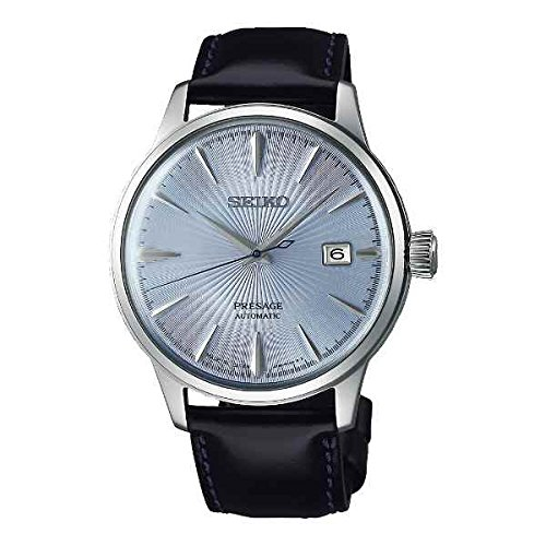 """SEIKO PRESAGE Automatic Ice Blue Cocktail Time """"Sky Diving"""""""