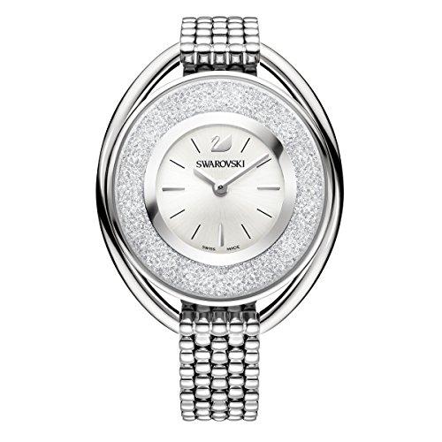 Swarovski Crystalline Oval White Bracelet Watch
