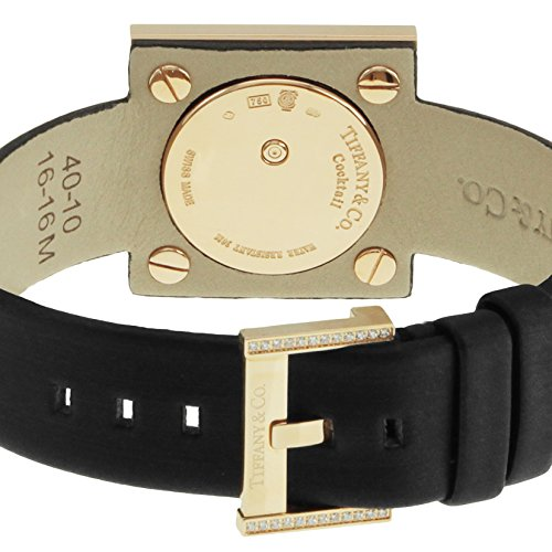 Tiffany & Co. Wristwatch Atlascocktailsquarelady Tiffany & Co. Wristwatch Atlascocktailsquarelady Z1950.10.30e10a40e Diamond K18rg Case.