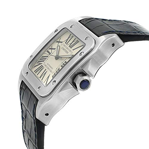 Cartier Santos 100 Automatic-self-Wind Male Watch Cartier Santos 100 Automatic-self-Wind Male Watch W20073X8 (Certified Pre-Owned).