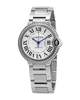 Cartier Ballon Bleu Automatic Diamond Ladies Watch