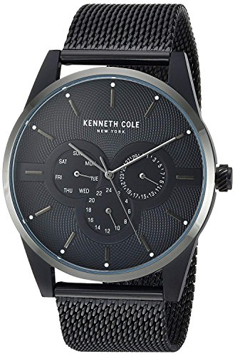 Kenneth Cole New York Men's Analog-Quartz Watch with Stainless-Steel Strap