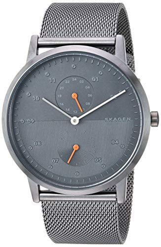 Skagen Men's Kristoffer Quartz Stainless Steel Mesh Watch Color
