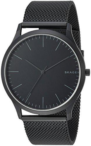 Skagen Men Jorn Analog-Quartz Stainless Steel Watch, Color: Black