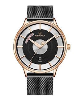 Men's Fashion Minimalist Waterproof Wrist Watch Analog Date Week