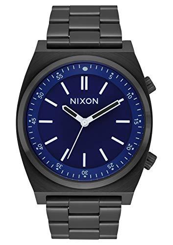 NIXON Brigade - All Black/Dark Blue - 103M Water Resistant Men's Analog Classic