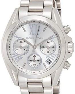 Michael Kors Women's Mini Bradshaw Silver-Tone Watch
