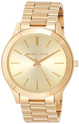 Michael Kors Women's Runway Gold-Tone Watch