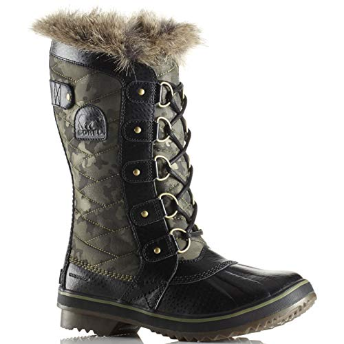 Sorel Women's Tofino II Boots, Camo/Hiker Green