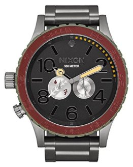 Nixon Unisex The - The Star Wars Collection Boba Fett Red/Gray Watch