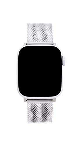 Rebecca Minkoff Stainless Steel Silver Watch Strap