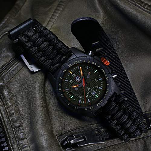Luminox Limited Edition Bear Grylls Wrist Watch | Black/Green
